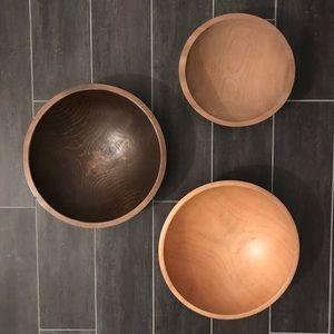 Large Unique Wood Bowl